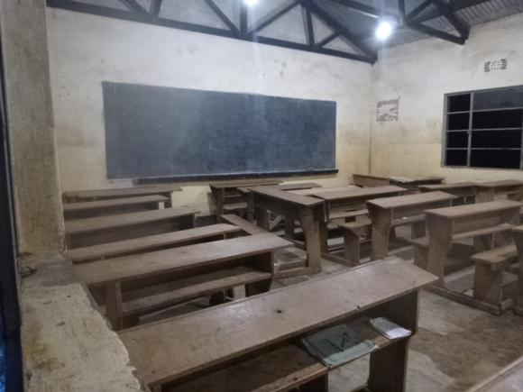 13 P1010913 Classroom at Night