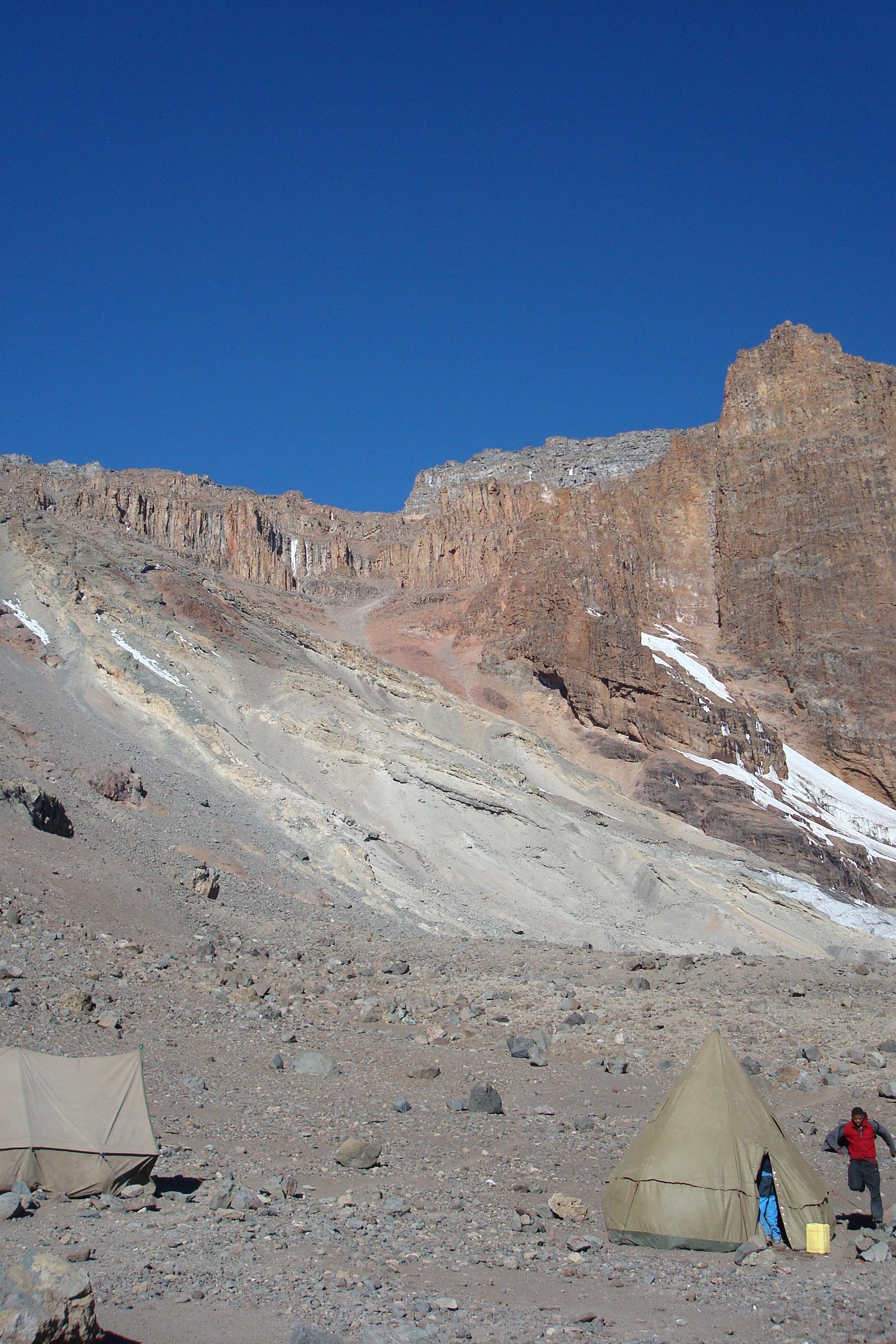 Day 5 To Arrow Glacier Camp DSC05123