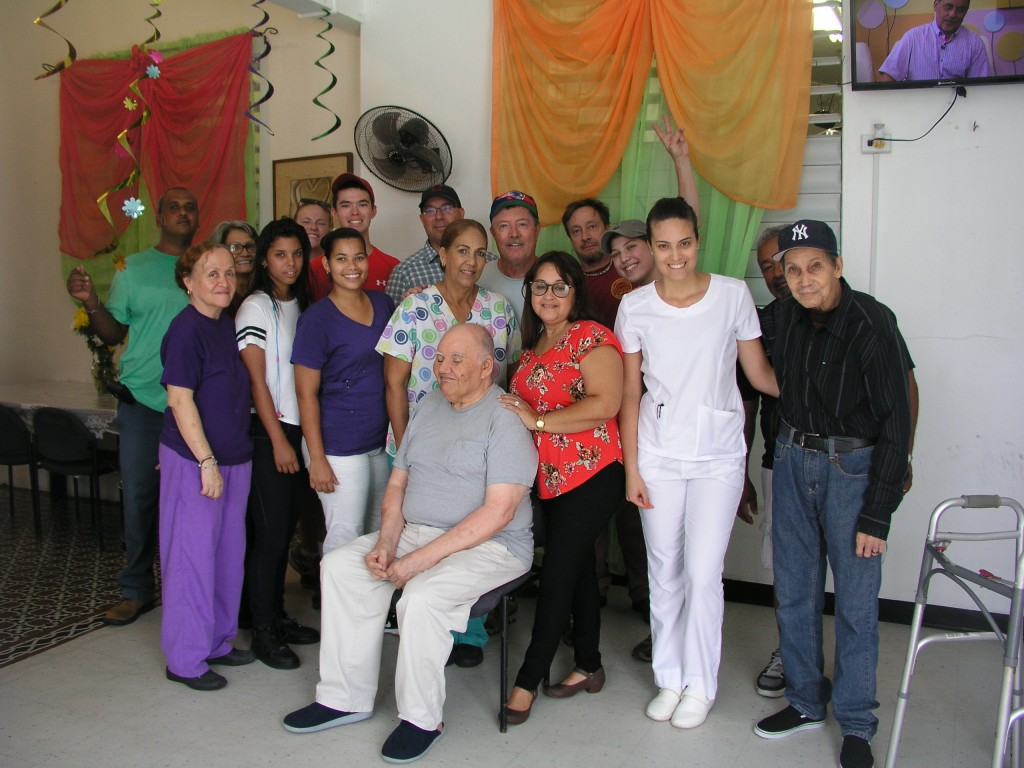 GSI, Staff and Patients of Elder Care Center