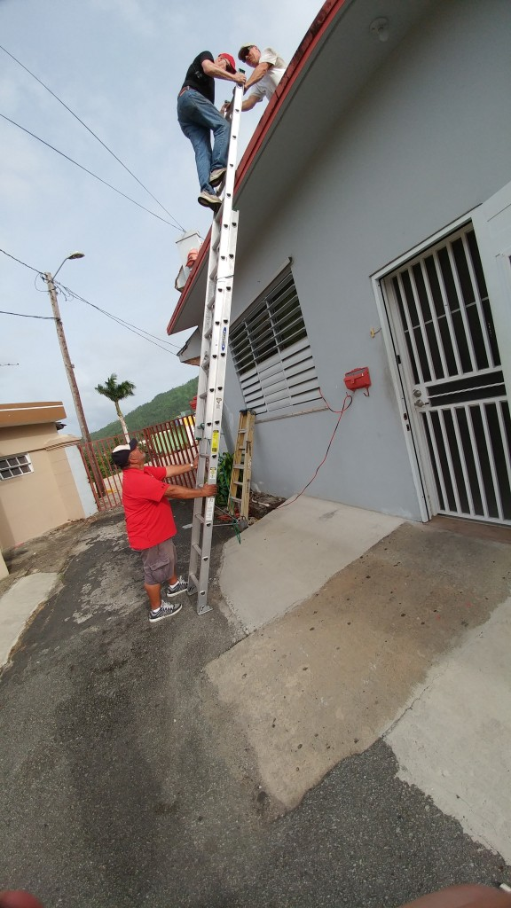 OSHA approved ladder safety